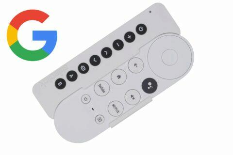 Chromecast s Google TV ovladač