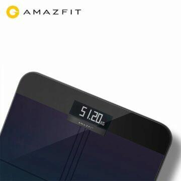 Chytrá osobní váha Amazfit displej