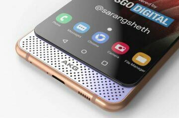 design Galaxy A82 5G
