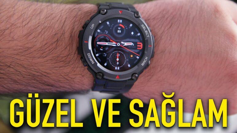 DÜNYADA İLK! Amazfit T-Rex Pro akıllı saat karşınızda