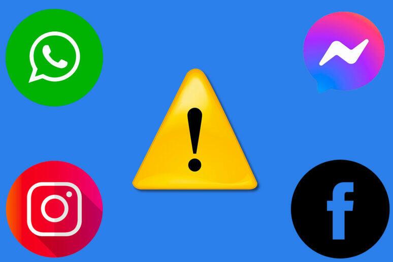 Facebook, Messenger, WhatsApp a Instagram mají výpadek