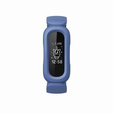 Fitbit Ace 3 modrá zelená displej