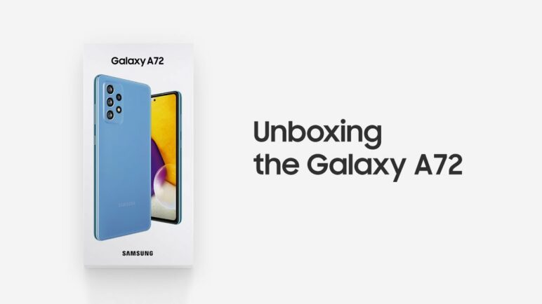 Galaxy A72: Official Unboxing | Samsung