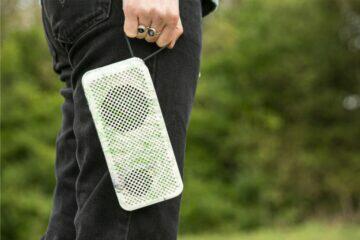 Gomi Speaker Kickstarter Bluetooth reproduktor velikost