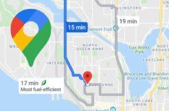 Google Mapy ekologické trasy