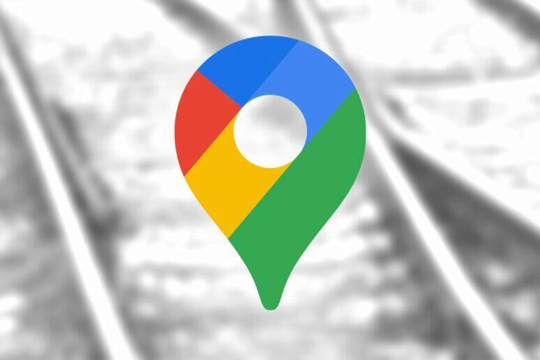 Google Mapy upozornění na železniční přejezdy