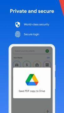 Google Stack skener - google drive