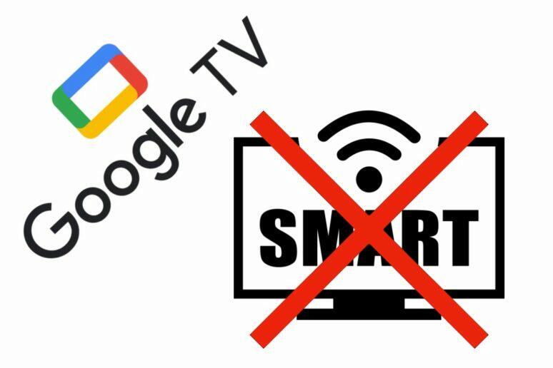 Google TV režim základní TV
