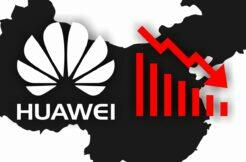 Huawei není jednička prodejnosti v Číně