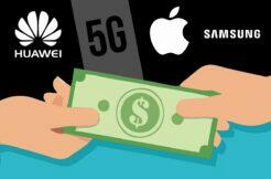 Huawei Samsung Apple 5G patenty