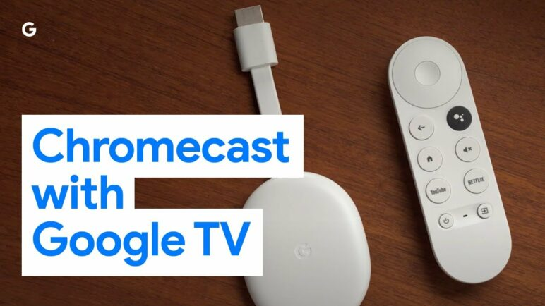 Introducing the new Chromecast with Google TV