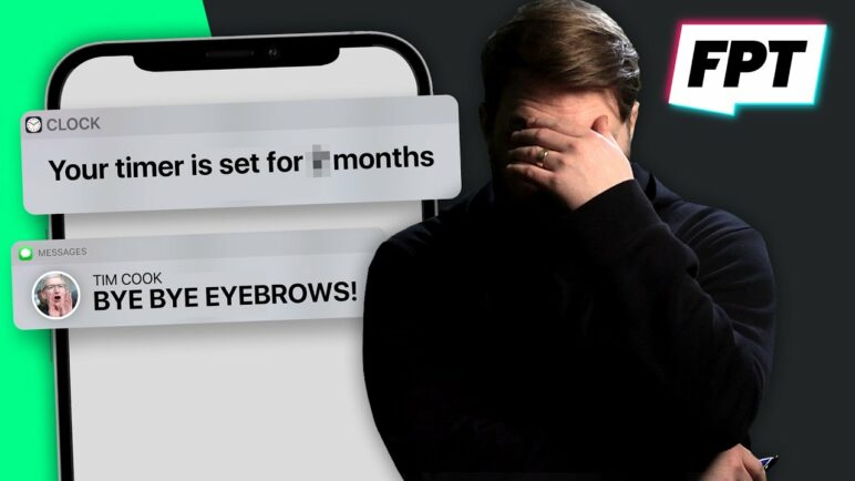 iPhone 13 - It's coming EARLY! I SHAVED OFF MY EYEBROWS!