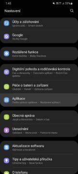 Jak změnit výchozí aplikace One UI nastavení