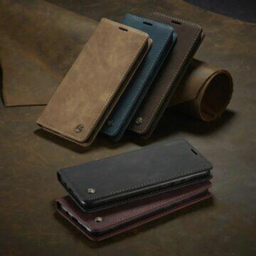 Koženkové obaly na telefony CaseMe barvy