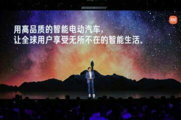 Lei Jun Xiaomi elektromobily