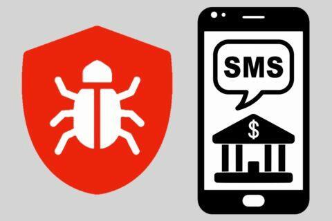 malware bankovní SMS