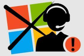 Microsoft falešná podpora