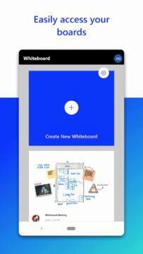 Microsoft Whiteboard Android Obchod Play hlavní stránka