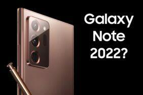 návrat Galaxy Note 2022