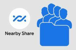Nearby Share posílání složek více příjemcům