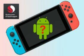 Nintendo Switch s androidem