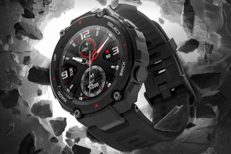nove hodinky amazfit t-rex pro