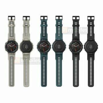 nove odolne hodinky huami