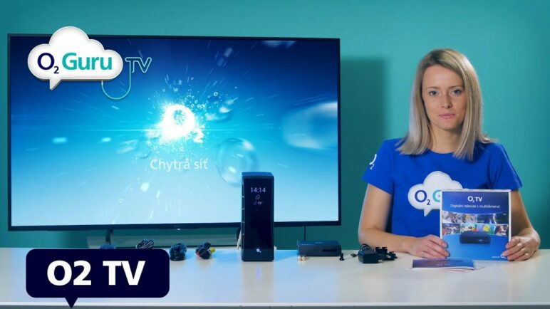 O2 TV set-top-box: Unboxing a nastavení