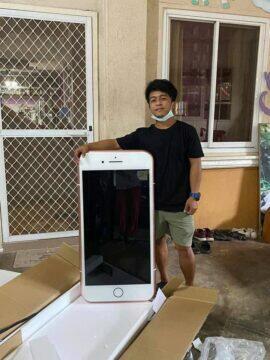 objednal iPhone dorazil stolek výška