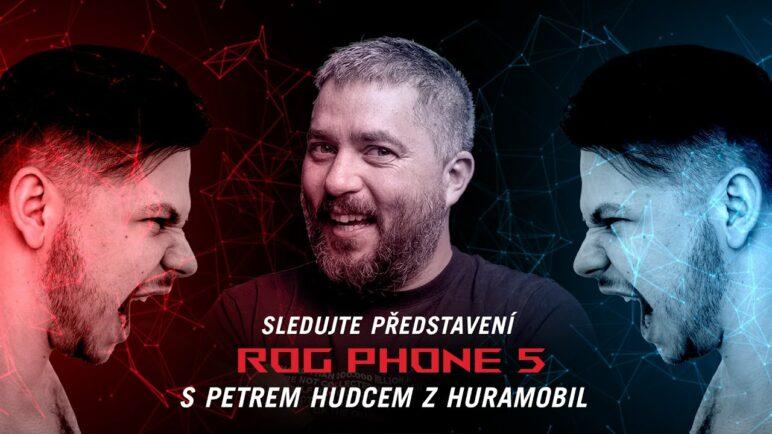 Officální představení ROG PHONE 5 s českým komentářem + speciální host!