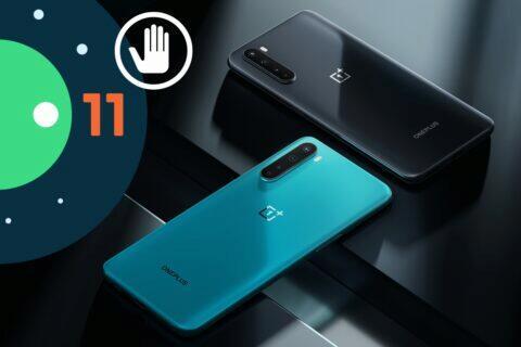 OnePlus Nord Android 11 update dorazí později