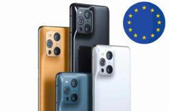 Oppo Find X3 v evropě