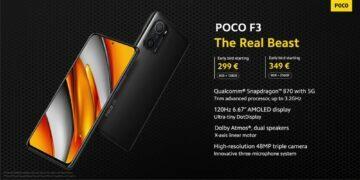 POCO F3 varianty ceny