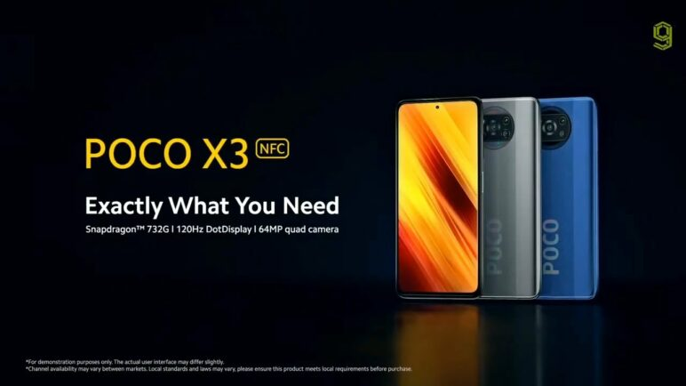 Poco X3 NFC Official Trailer - Xiaomi Poco X3 NFC Official Trailer