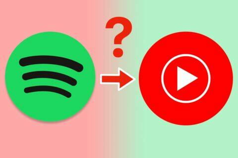 přejít ze Spotify na YouTube Music