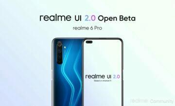 Realme UI 2.0 beta