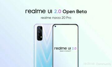 Realme UI 2.0 beta open