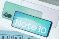 Redmi Note 10 parametry únik