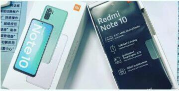 Redmi Note 10 parametry únik fólie