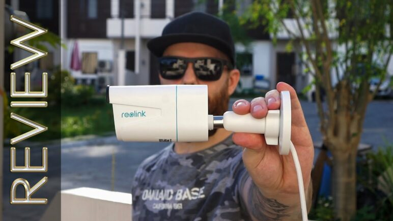 Reolink RLC-810A 8MP 4K Bullet Outdoor POE IP Camera Review