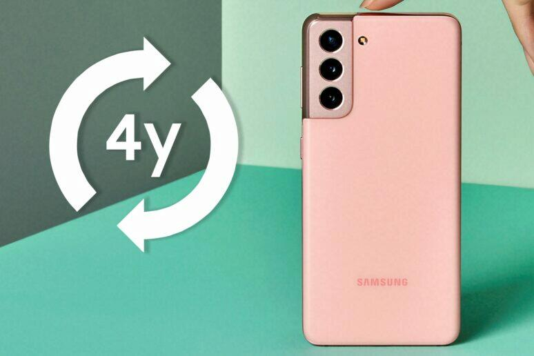 Samsung systém pro čtyřletou podporu