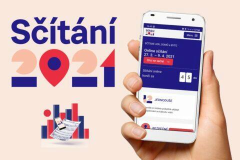 Sčítání 2021 přes mobil