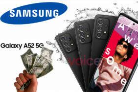 Uniká cena nového Galaxy A52 5G