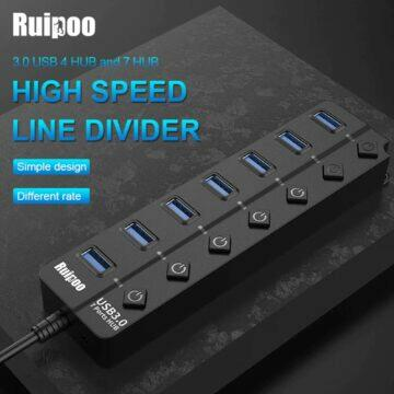 USB HUB splitter Ruipoo