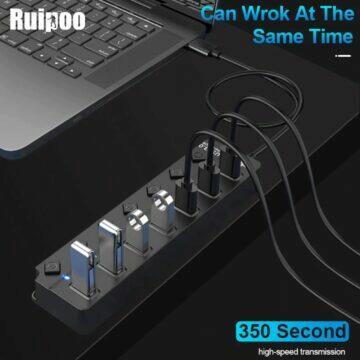 USB HUB splitter Ruipoo 7