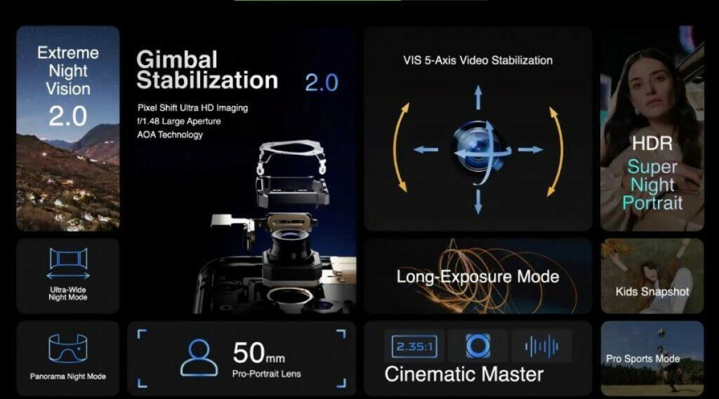 smartphony vivo X60