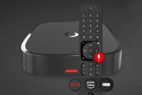 Vodafone TV hlasové ovládání
