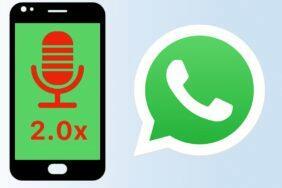 WhatsApp hlasové zprávy