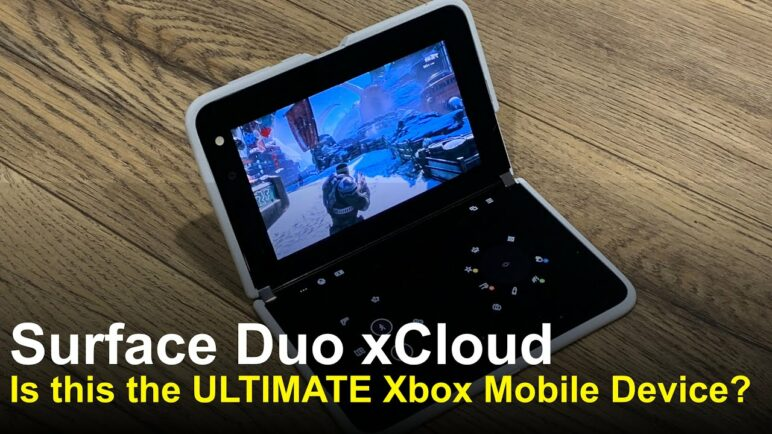 Xbox Cloud Gaming on A Surface Duo, HUGE Update