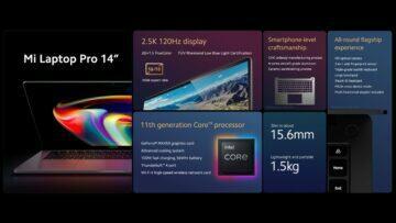 Xiaomi Mi Laptop Pro 14 oficiálně